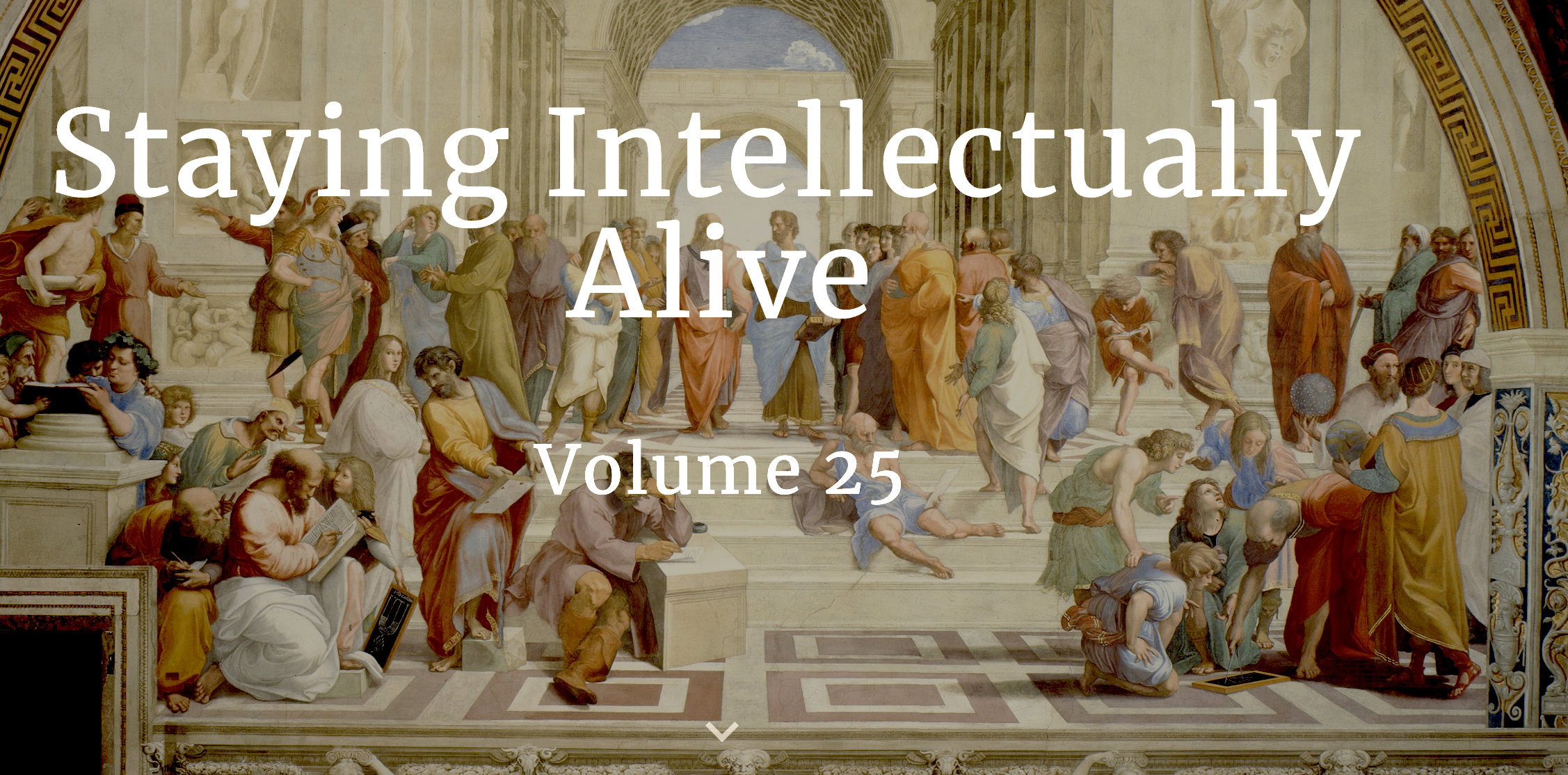 Staying Intellectually Alive